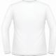 White Sleeve Shirt Template
